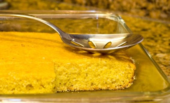 foto da receita Bolo cremoso de milho verde