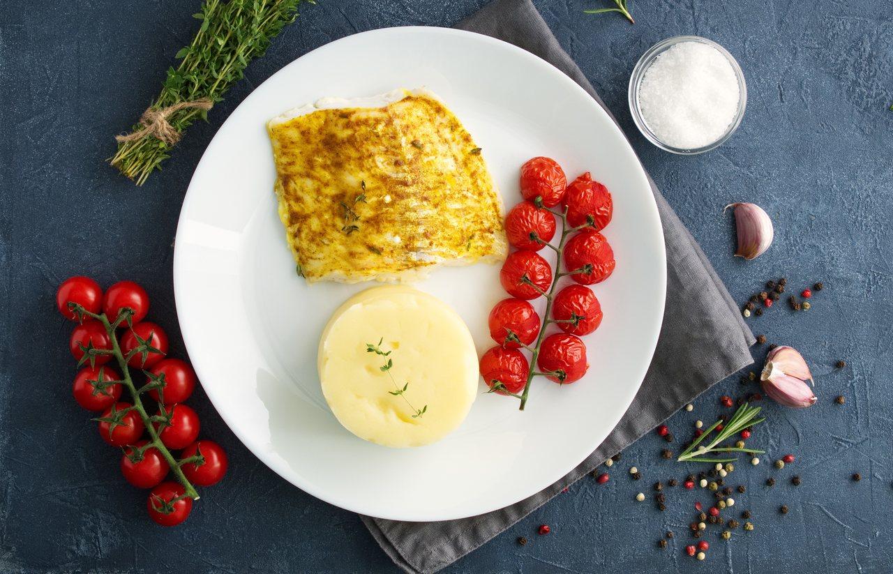 foto da receita Bacalhau com tomate