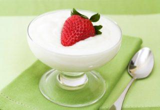 foto da receita Mousse de iogurte
