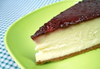 foto da receita Cheesecake de framboesa