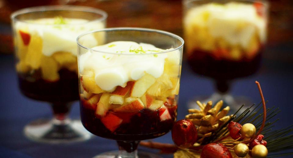 foto da receita Taça especial de frutas