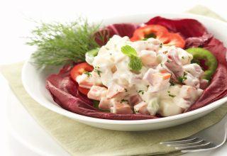 foto da receita Salada de maionese diferente