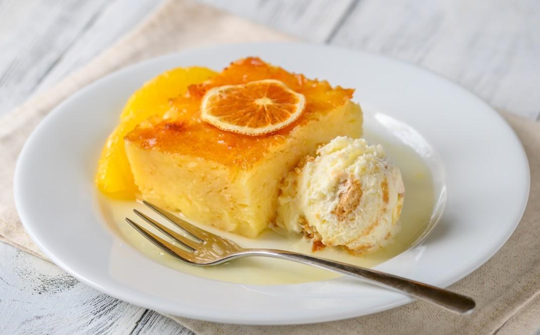 foto da receita Bolo de laranja prático
