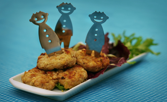 foto da receita Hambúrguer vegetariano