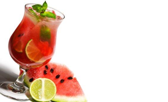 foto da receita Suco de melancia com limão