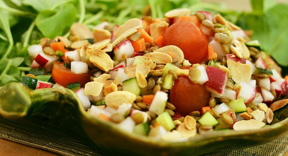 foto da receita Salada mediterrânea