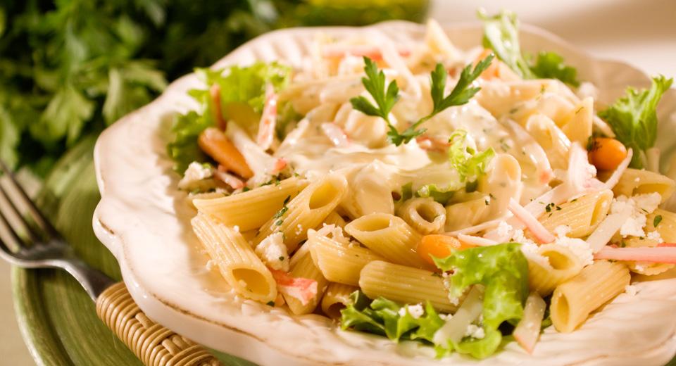 foto da receita Salada de macarrão