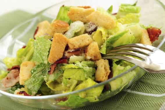 foto da receita Salada caesar