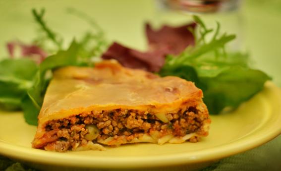 foto da receita Torta de carne moída