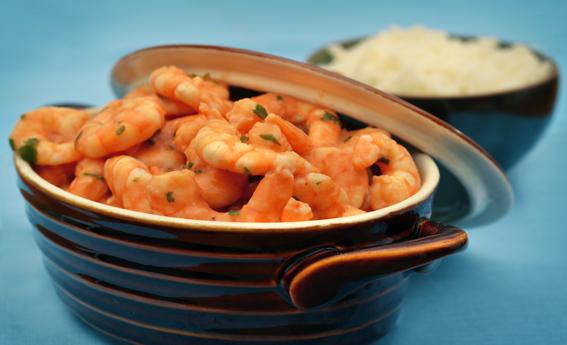 Cozido de camarão