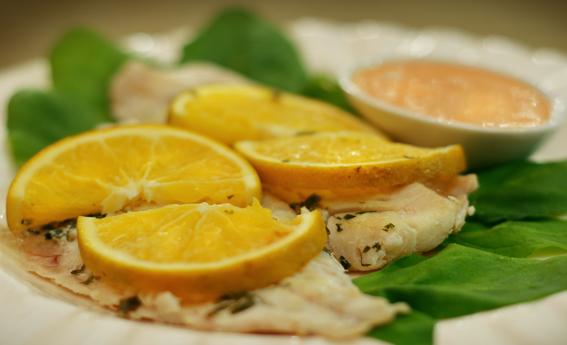 foto da receita Filé de peixe cítrico