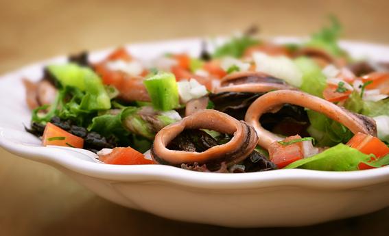 foto da receita Salada capixaba de lula
