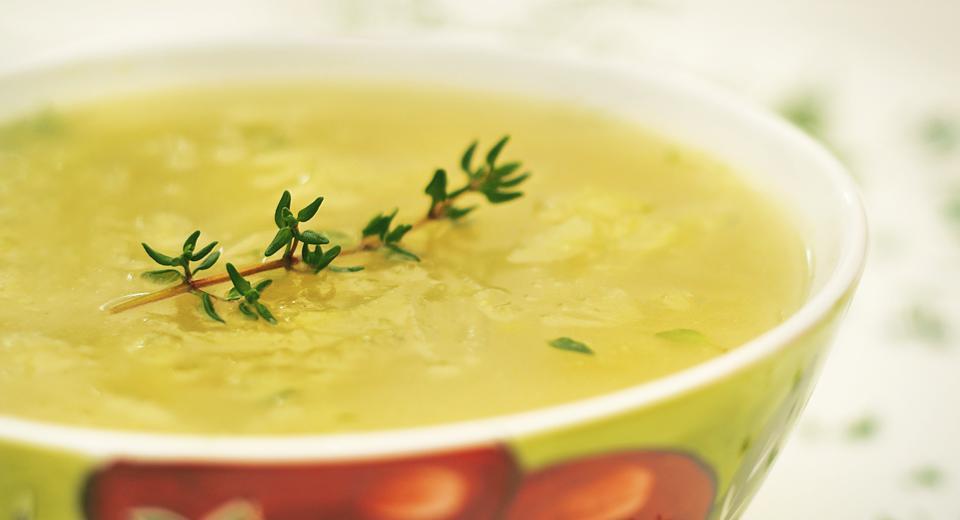 foto da receita Sopa de batata com erva doce