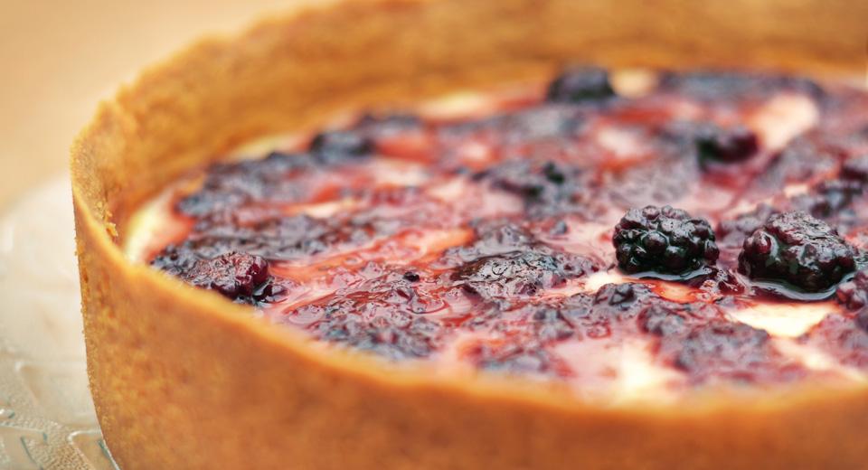 foto da receita Torta de pera
