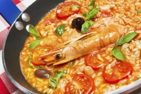 foto da receita Paella