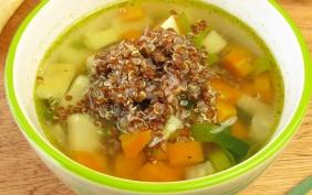foto da receita Sopa de quinua