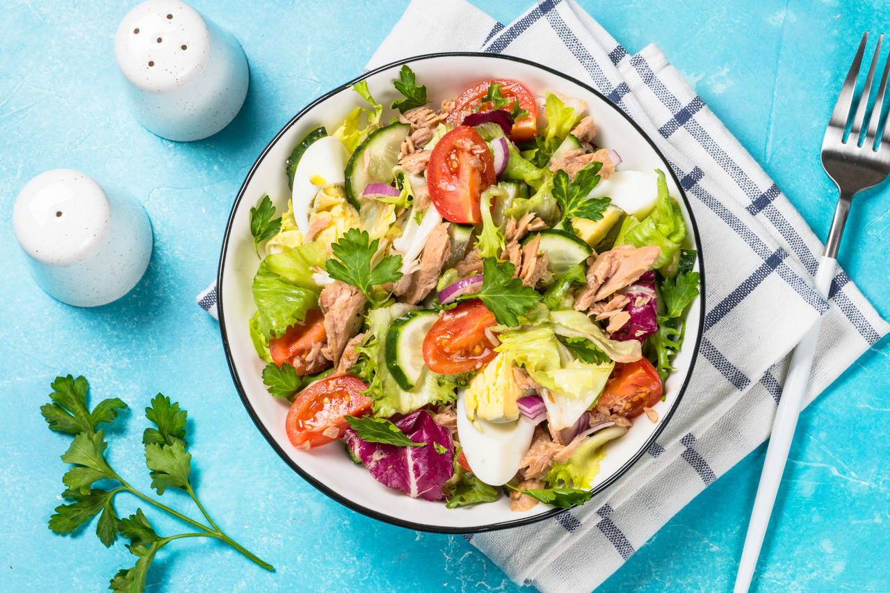 Salada de atum especial