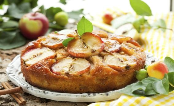 foto da receita Bolo de maçã