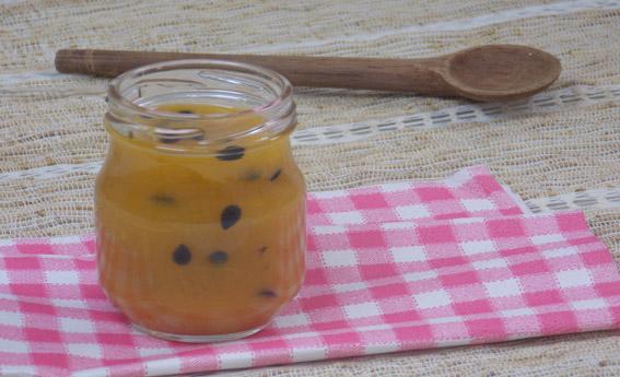 foto da receita Geleia de frutas amarelas
