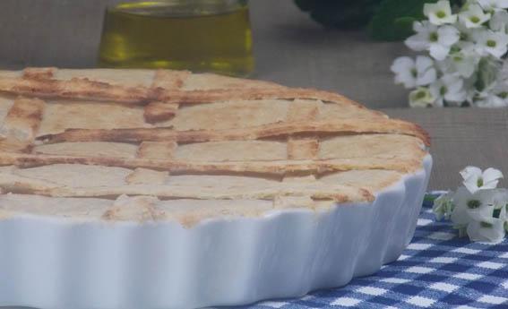 foto da receita Torta de frango com massa de iogurte