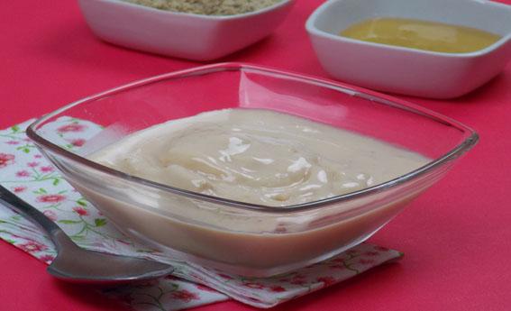 foto da receita Frozen yogurt de mamão e nozes