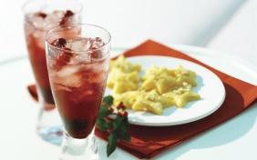foto da receita Coquetel de cranberry