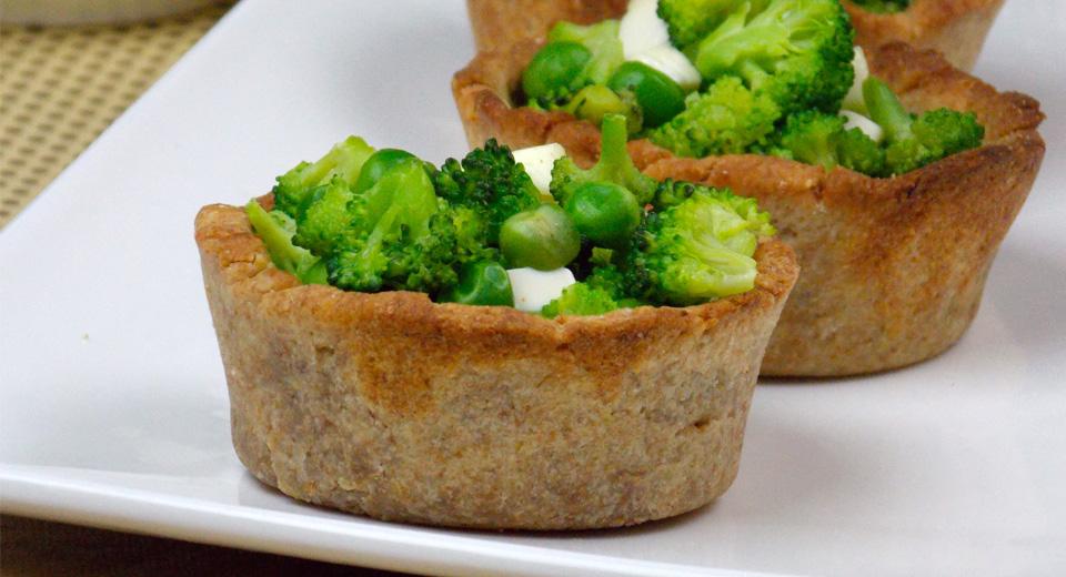 foto da receita Mini torta integral de legumes