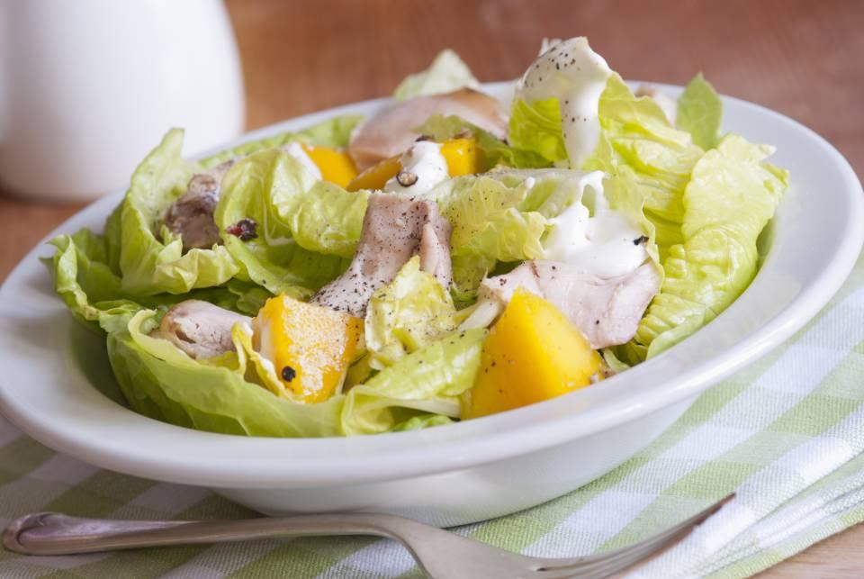 foto da receita Salada com manga