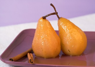 foto da receita Pera com calda de laranja