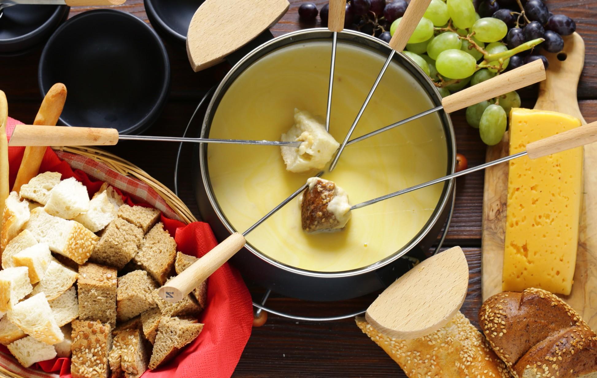 Fondue 3 queijos light