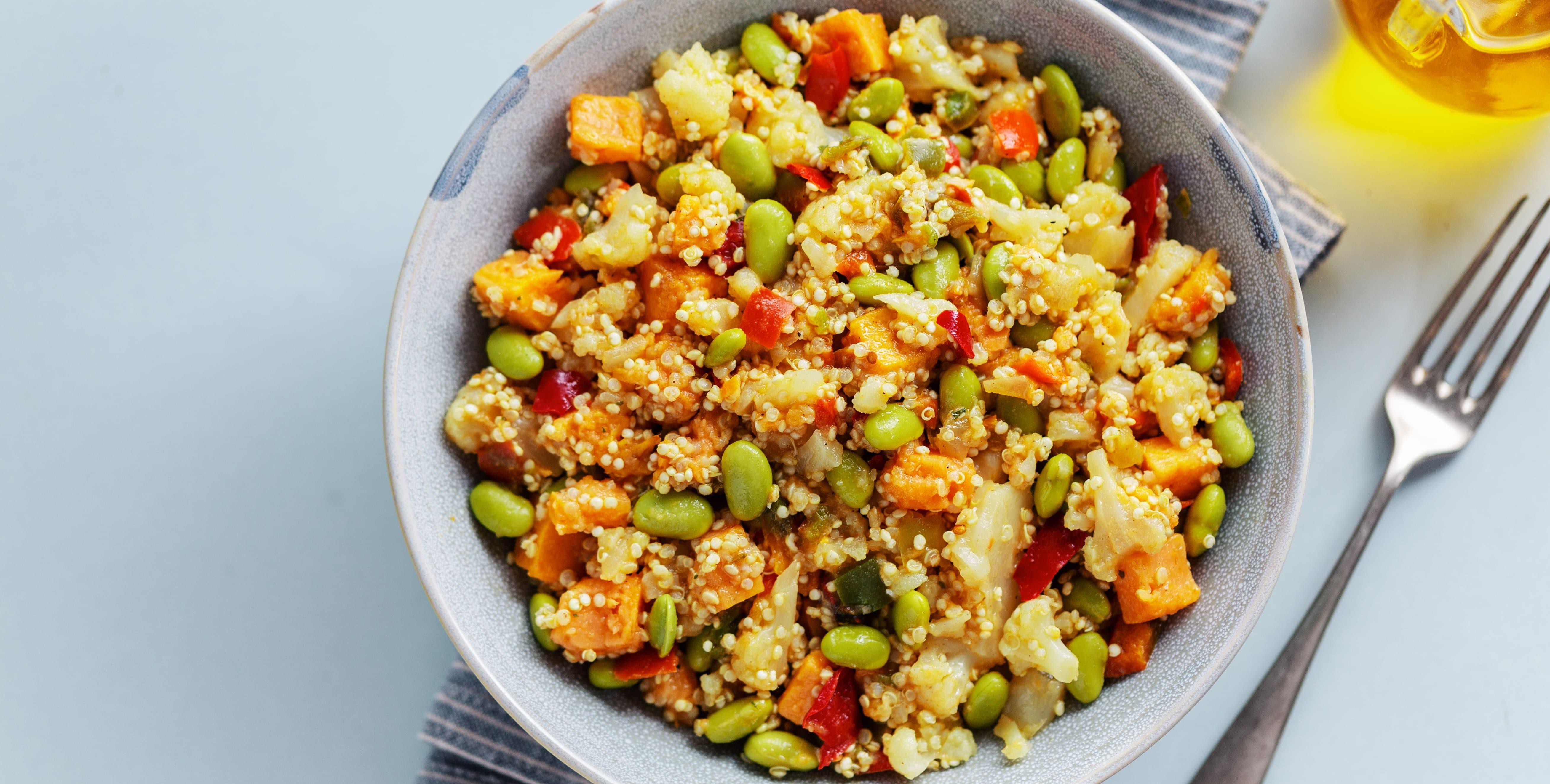 Salada de cereais