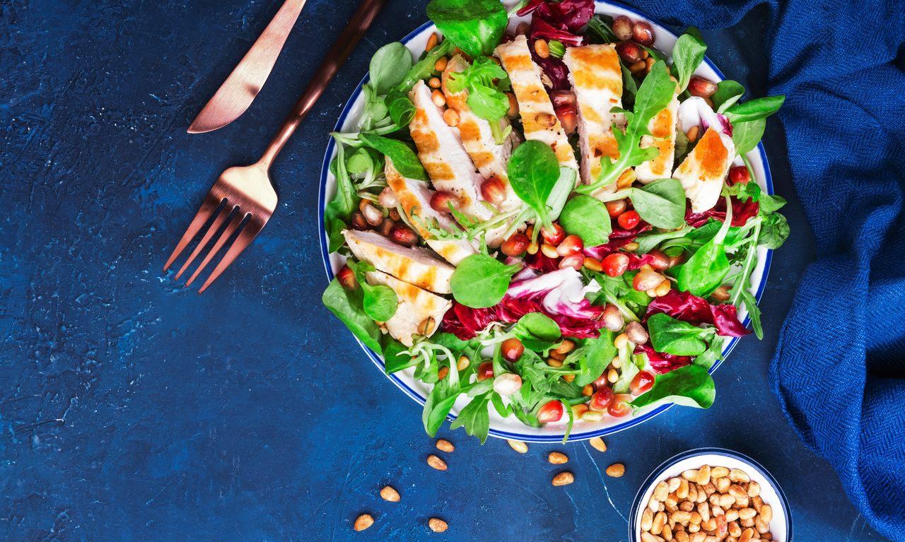 foto da receita Salada de frango