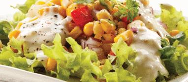 foto da receita Salada primavera
