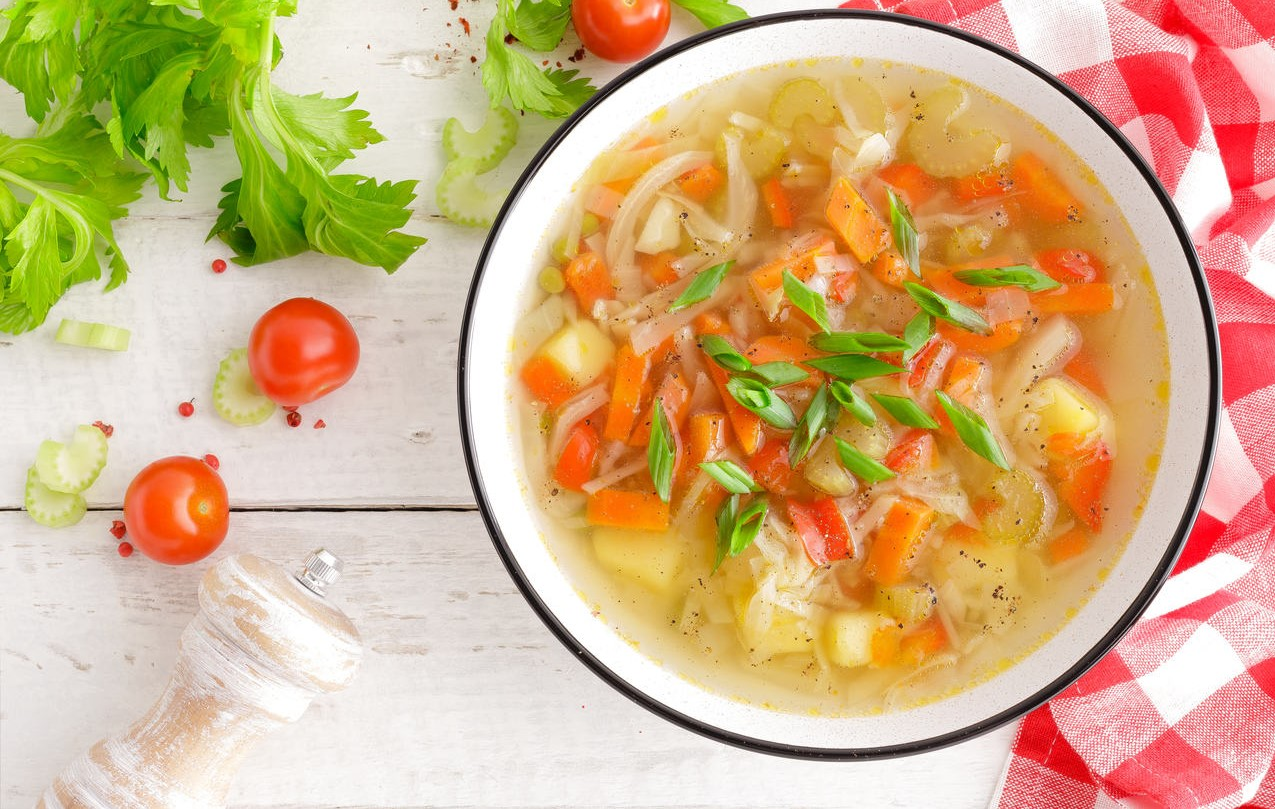 foto da receita Sopa de legumes