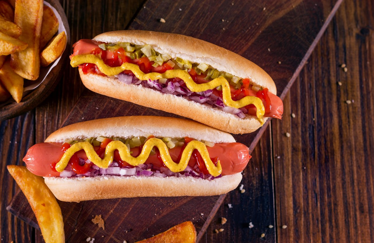 foto da receita Hot Dog Completo