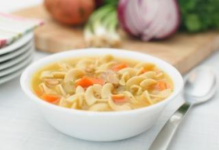 foto da receita Sopa de capeletti
