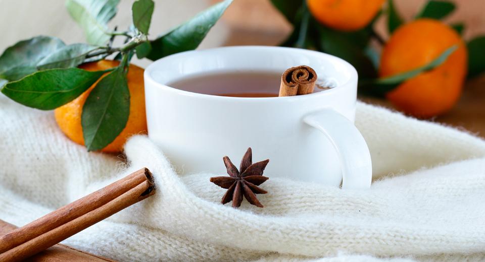foto da receita Chá de frutas
