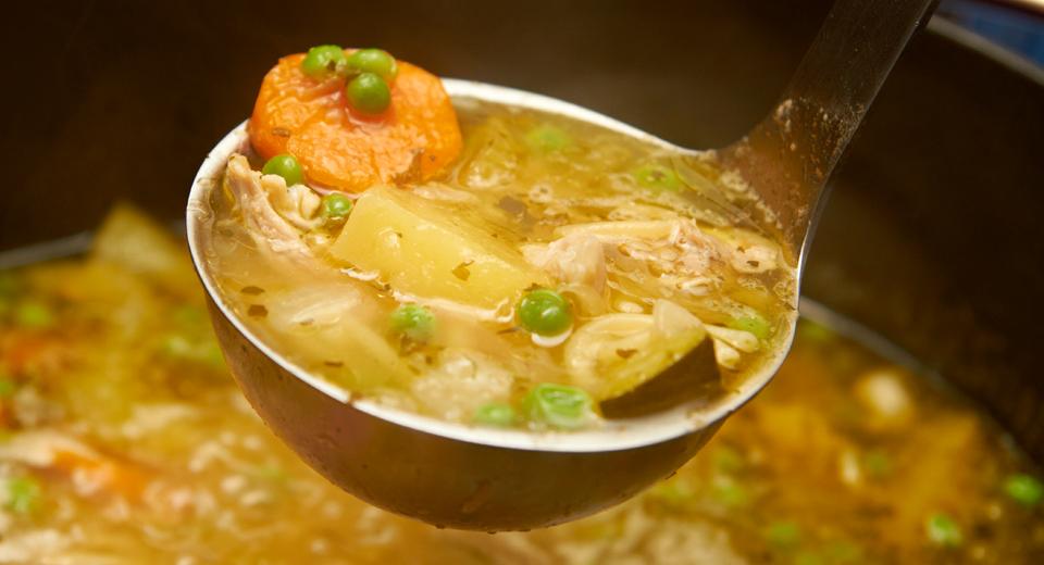 foto da receita Canja de galinha