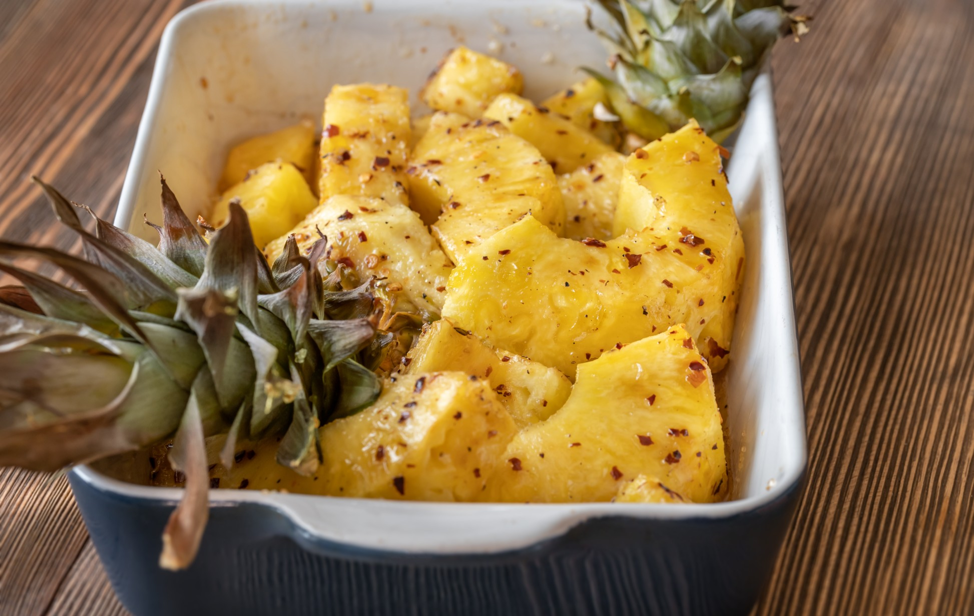 Abacaxi assado