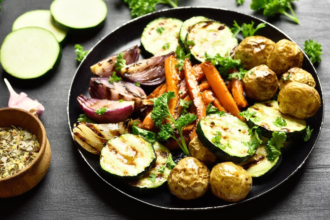 foto da receita Legumes ao forno