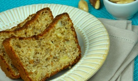 Pão de forma com sementes e macadâmia