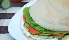 foto da receita Sanduíche sírio