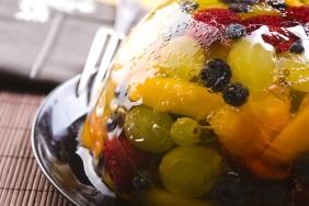 foto da receita Gelatina refrescante com frutas