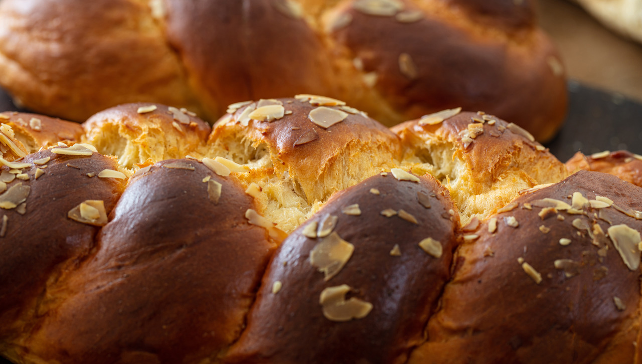 foto da receita Pão doce natalino