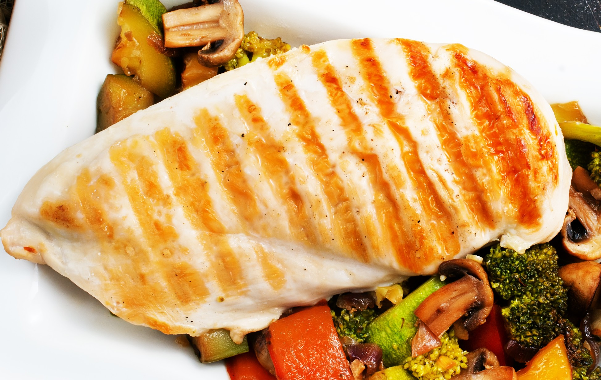 foto da receita Filé de peito de frango com sementes de linhaça