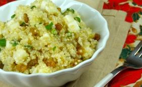 foto da receita Quinoa com abacaxi e passas