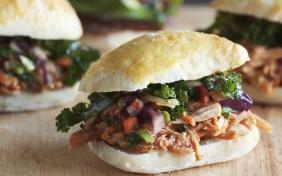 foto da receita Mini sanduíches de carne louca