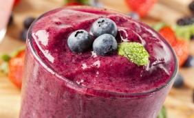 foto da receita Suco de uva com açaí