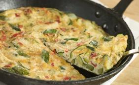 foto da receita Omelete de atum