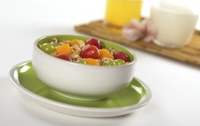 foto da receita Salada de frutas com cereais